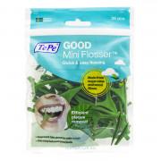 Зубная нить TePe GOOD mini Flosser с держателем, 36 шт