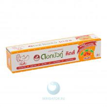 Зубная паста Dok Bua Ku Kids (апельсин) от 2 до 10 лет, 35 г