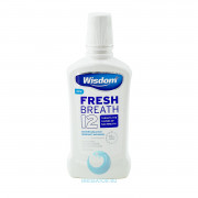 Ополаскиватель Wisdom Fresh Breath 12 антибактериальный, 500 мл