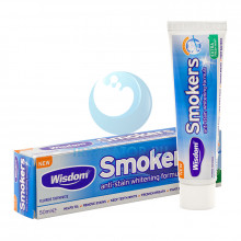 Зубная паста Wisdom Smokers Extra Fresh mint, 50мл